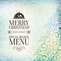 Special Christmas restaurant menu