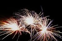 Triple fireworks!