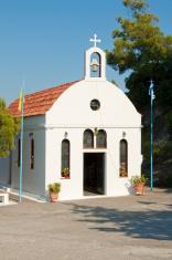 Small church on Rhodes