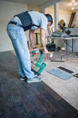 Home Renovations - Hardwood Floor Installation