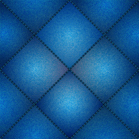 cushioned denim square panel