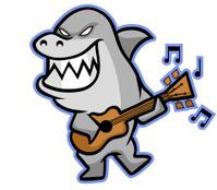 Shark Musician