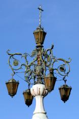 Ornate Antique Light Post