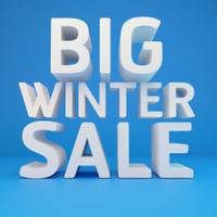 Big winter sale