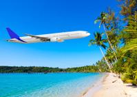 Passenger Airliner flying