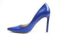 Blue High Heels Shoe