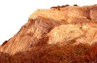 Clay cliff at Gay Head