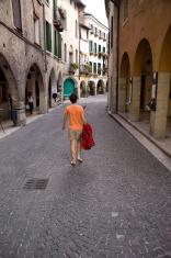 Walking in Italy