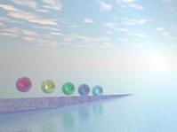Abstract CGI - Colourful Balls