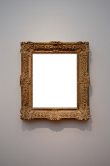 Art gallery frame (Clipping Path)