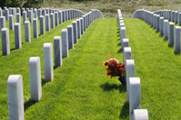 Bouquet of remembrance