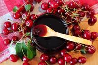 Cherries and cherry jam