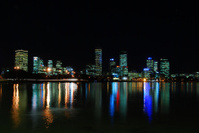 Perth City wide night shot