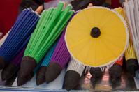 umbrella made of paper / cloth Arts and crafts