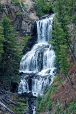 Waterfalls at Yellowstone National Park