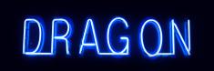 Neon light : Dragon