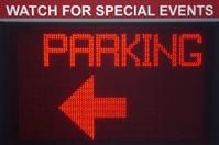 Digital Parking Sign