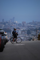 Lost Cyclist, San Francisco