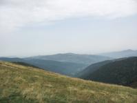 Landscape in the Vosges and Ballon d'Alsace