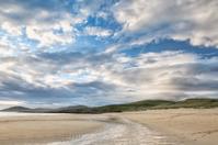 Beautiful clouds on Harris beach