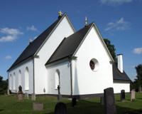 The church of Frösö Kyrka, Sweden