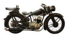 Prewar Motorcycle