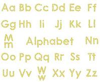 Chamomile alphabet