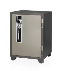 Security safe isloated on white
