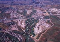 Subdivision Construction Aerial
