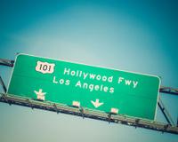Los Angeles Hollywood Freeway 101