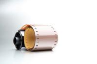 film roll closeup