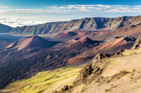 Volcanic landscape from the Kalahaku overlook