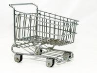 Miniature shopping cart