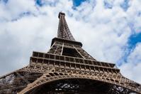 The eiffel tower in Paris - France  Tour Eiffel