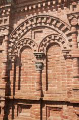 Fragment of Russian Orthodox chapel