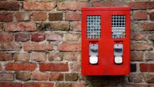red gumball machine
