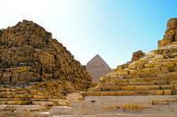 Ruins pyramid