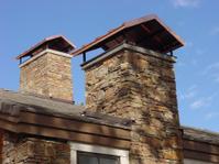 Stone chimney caps