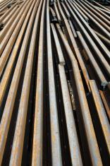 railway rails scrap recycling