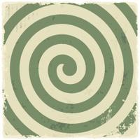 Retro vintage grunge spiral background