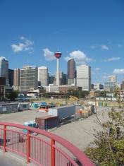 Calgary downtown city skyline