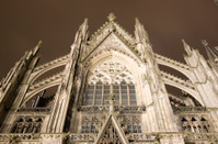 The famous cathedral of Cologne