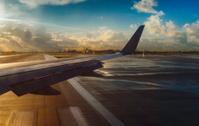 miami airport at sunrise