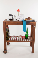 romantic tea-trolley