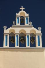 Santorini, Greece, church bells