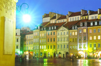 Warsaw lights