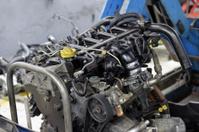 car engine repair shop