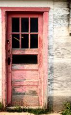 An abandoned farm house in scenic Saskatchewan