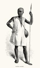 Nubian soldier