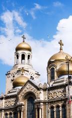 Assumption Cathedral in Varna, Bulgaria